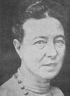 Simone de Beauvoir Foto